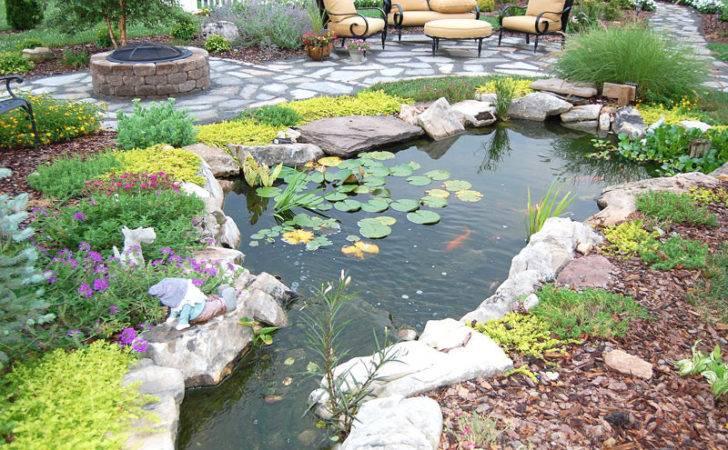 Inspiring Backyard Pond Ideas Quiet Corner