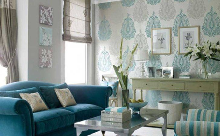 Inspiring Blue Small Living Room Decosee