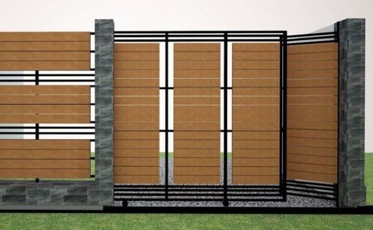 Inspiring Modern Fence Design Minimalist House