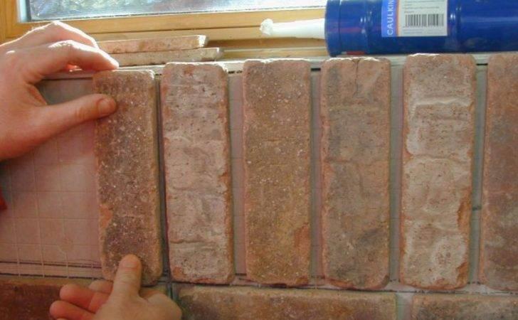Install Interior Brick Veneer Tos Diy
