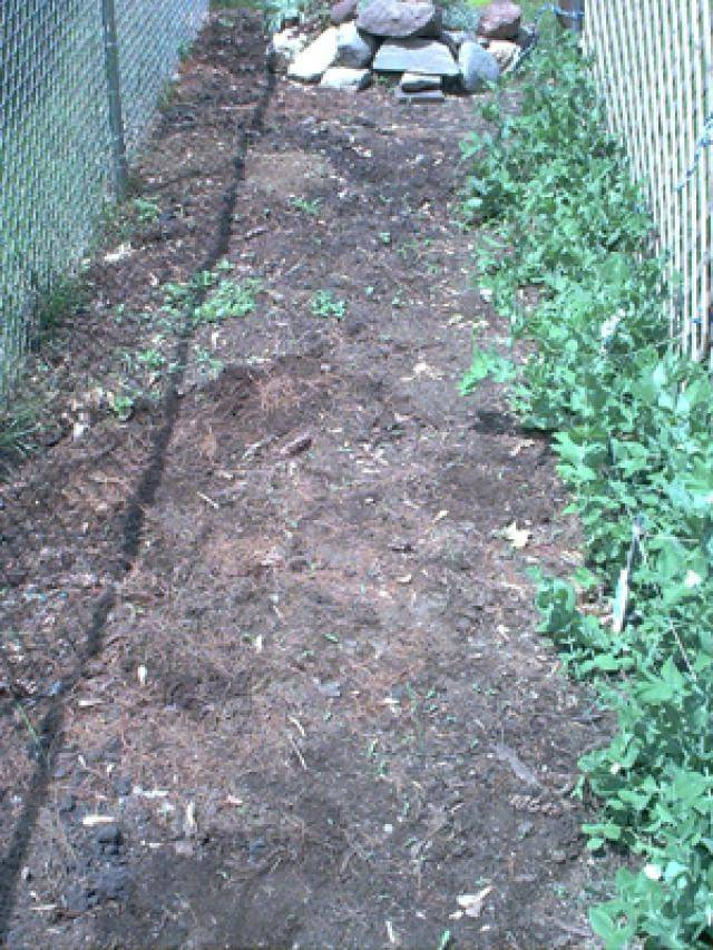 Install Landscape Fabric Area Like One Before Weeds