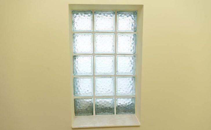 Installing Glass Block Windows Bathrooms Basements