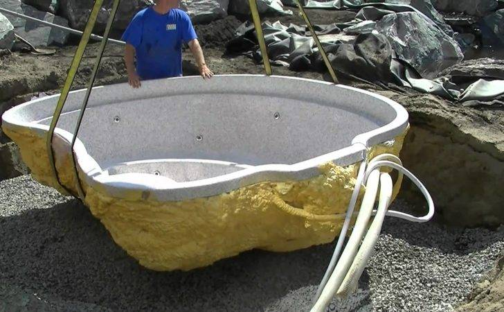 Installing Mineral Spa Hot Tub Youtube