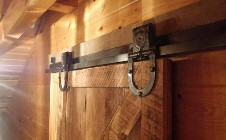 Installing Vintage Barn Door Hardware Station