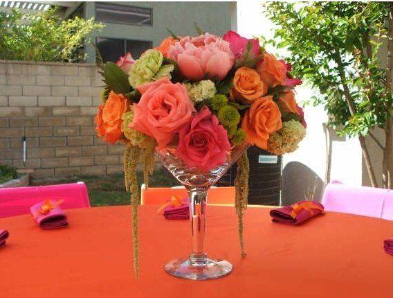 Interesting Diy Wine Glass Centerpieces Products Love Pinterest