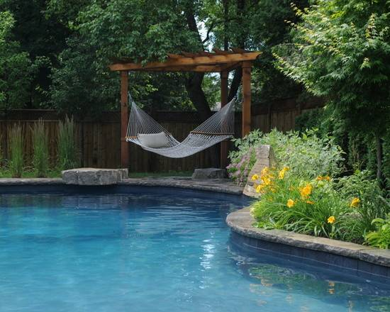 Interesting Pool Beautiful Homes Design