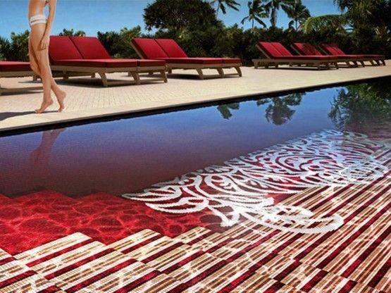 Interesting Pool Designs Dream House Pinterest