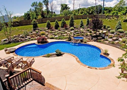 Interesting Swimming Pool Designs Summer Mood Have Fun