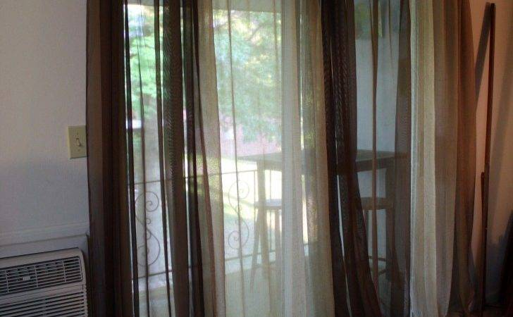 Interior Awesome Sliding Glass Door Window Treatment