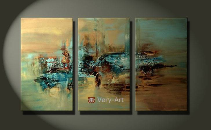 Interior Decor Specialist Abstract Design Wall Art Oil Painting Ready