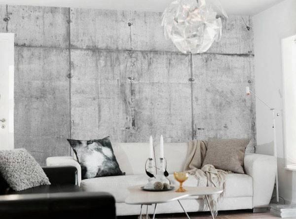 Interior Decoration Concrete Ideas Design