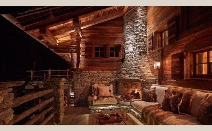 Interior Design Chalets Swiss Chalet Switzerland One
