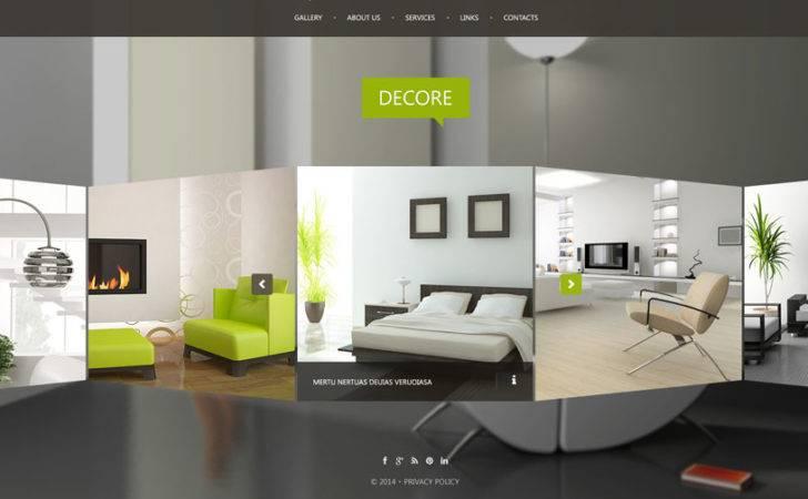 Interior Design Furniture Website Templates