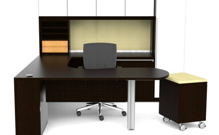 Interior Design Glass Modern Executive Office Desk