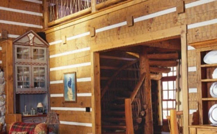 Interior Design Log Cabin Designs