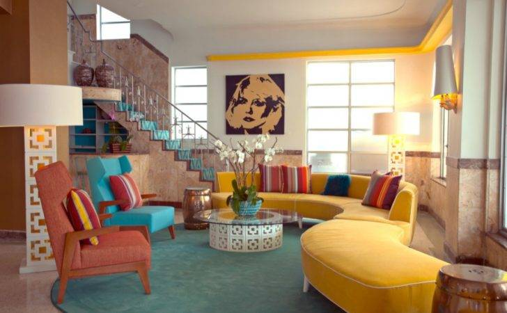 Interior Design Styles Retro Style Cas