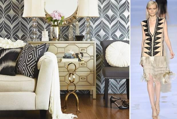 Interior Design Takes Cues World Fashion