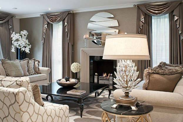 Interior Design Unmistakable Touch Glamour