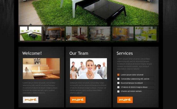 Interior Design Website Template