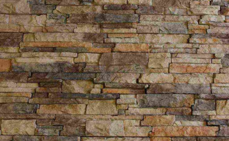 Interior Design Well Faux Rock Panels Stacked Stone