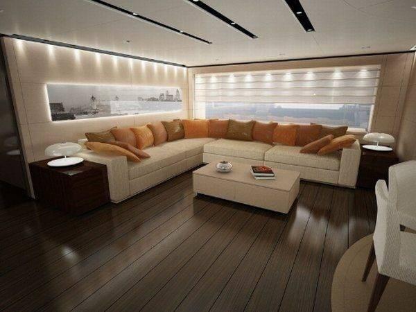 Interior Design Yachts Large Boats Freshome