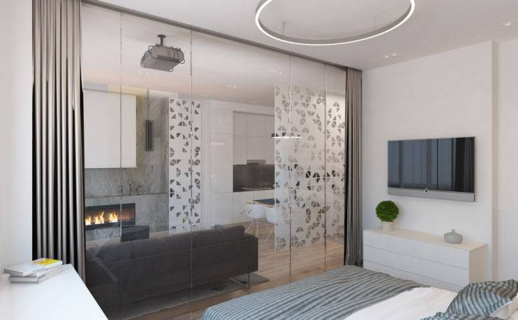Interior Glass Walls Design Ideas