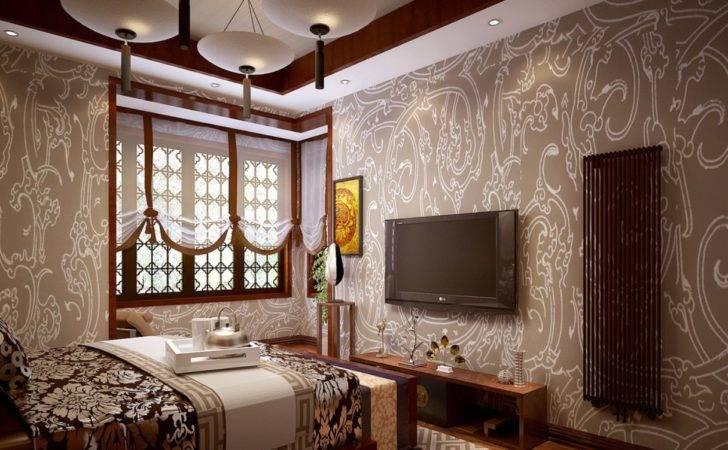 Interior Luxury Brown Design Idea Dining Room