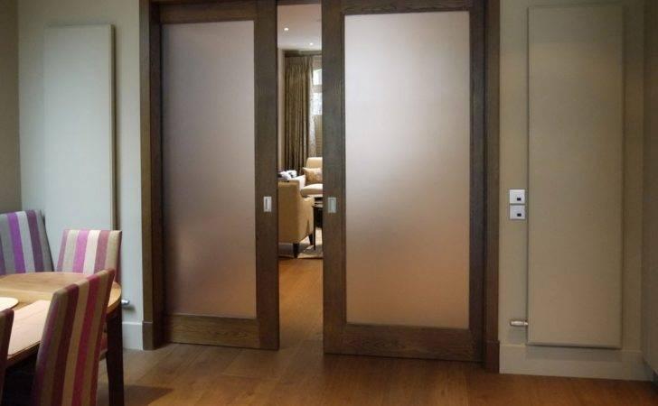 Interior Pocket Sliding Glass Doors Door Knobs
