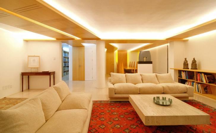 Interior Pop Ceiling Design Ideas Wood Panel Decoration