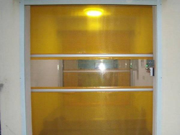 Interior Pvc High Speed Roll Door Certificate