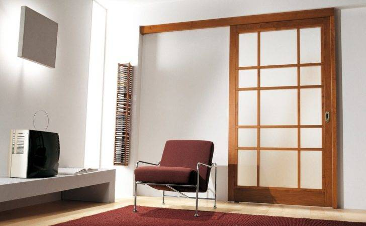 Interior Sliding French Doors Which Having Obscure