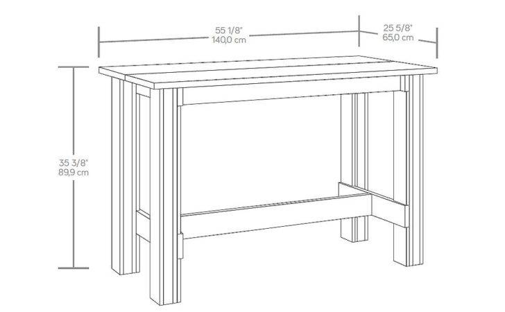 Interior Standard Dining Table Height Bathroom Vanity Mirror