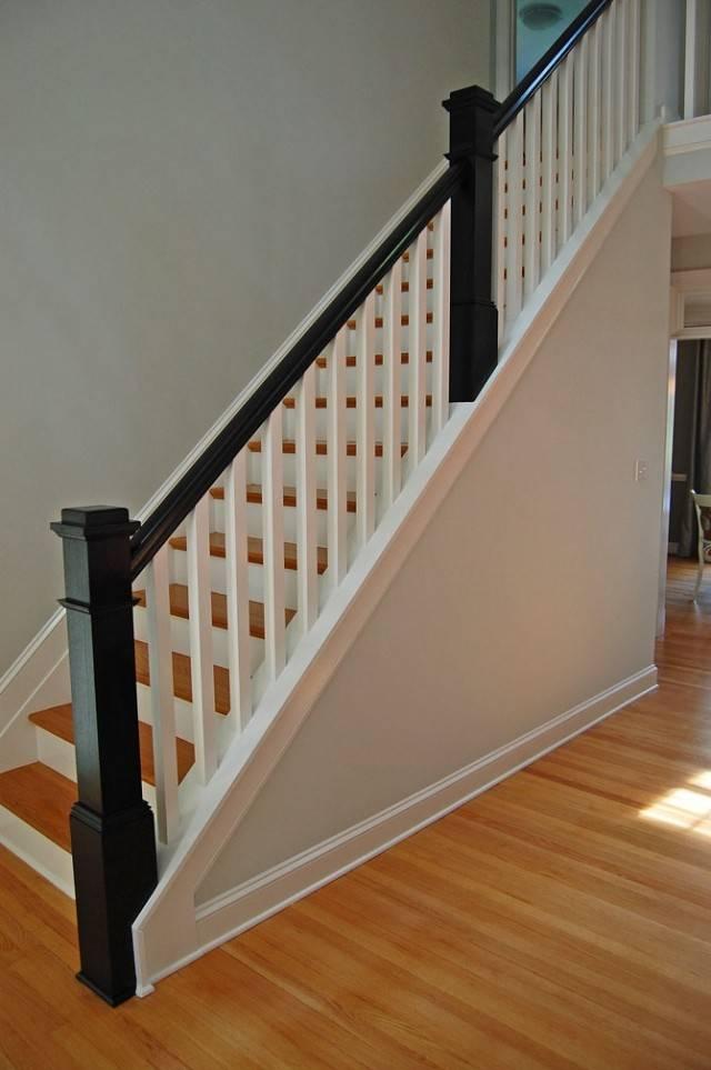 Interior Wood Stair Railing Kits Newsonair