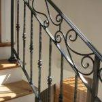 Interior Wrought Iron Railing Amaral Industries Custommade