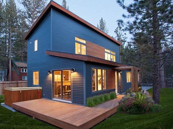 Interiors Encourage Interplay Light Glass Wood Modern