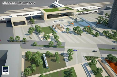 Intermodal Community Center Design Phase Starts Debrecen Sun