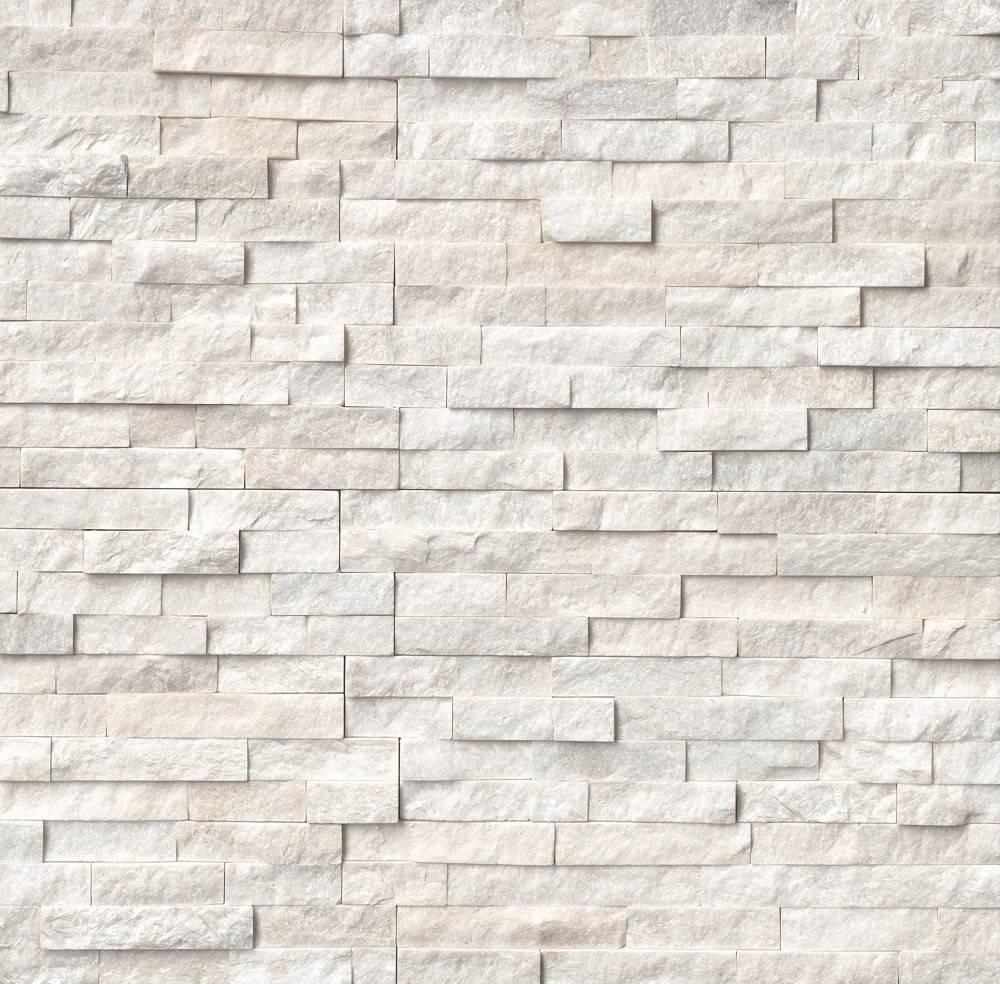 International Stone Siding Slate Arctic White
