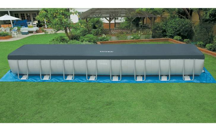 Intex Ultra Frame Rectangular Swimming Pool Sand Filter