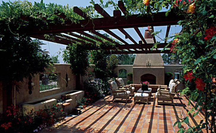 Inviting Front Yard Courtyard Michael Glassman Associates