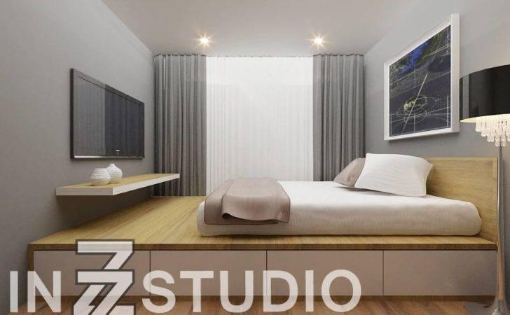 Inzz Studio Waterview Platform Bed