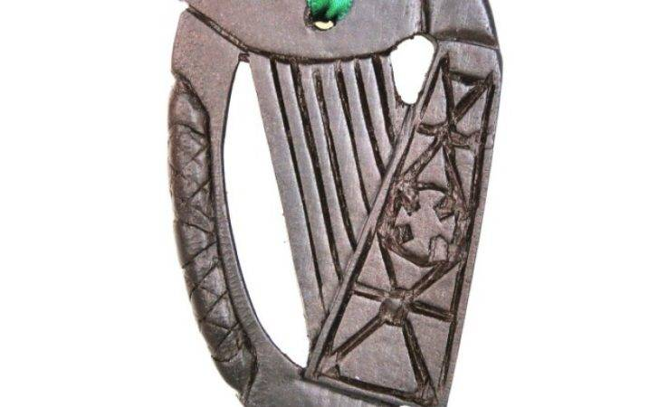 Irish Harp Hanging Decoration