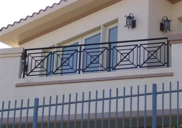 Iron Balcony Railing Ideas Rod