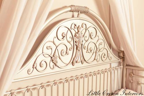 Iron Crib Completed Luxury Mattress Naturalmat