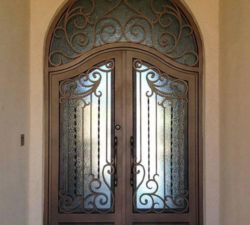 Iron Doors Mediterranean Front