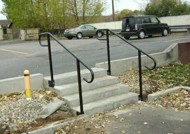 Iron Handrail Outdoor Steps Interior Stair Railings China