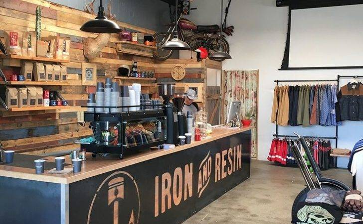Iron Resin Australia Cafeter Restaurante Bar