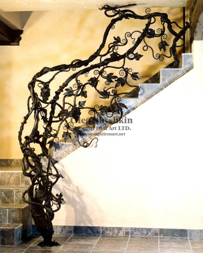 Iron Sculpture Design Gates Railings Furniture Mailbox Wine