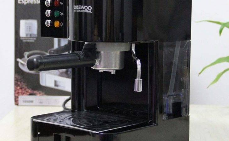 Italian Bar Cappuccino Espresso Coffee Maker Home Machine