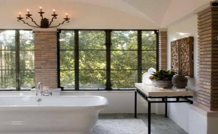 Italian Bathroom Designs Modern Brick