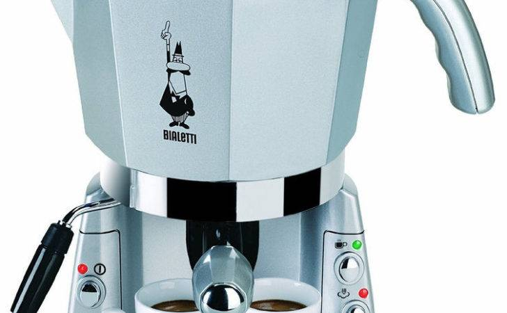 Italian Espresso Capuccino Bialetti Mokona Coffee Machine